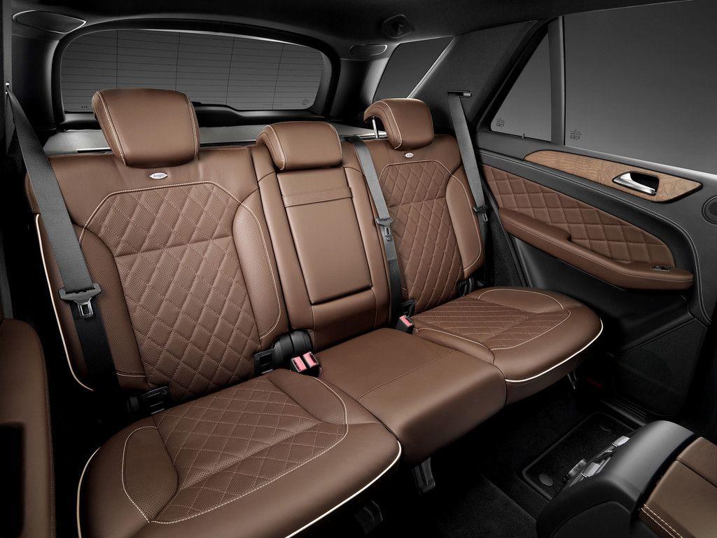 Brown Leather Designo Interior For The New Mercedes M Class