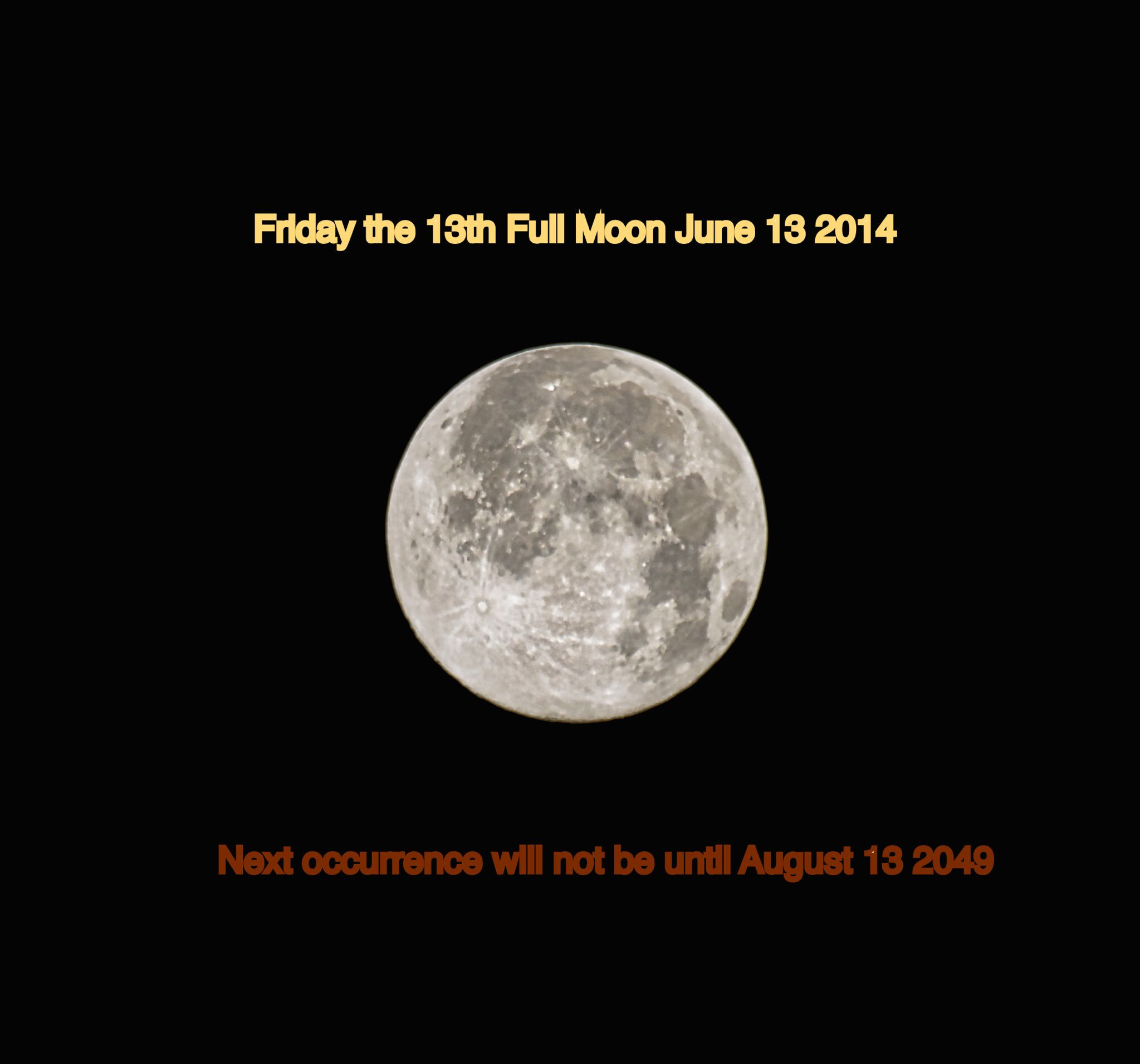 Friday the 13th Full Moon. (With images) Full moon june