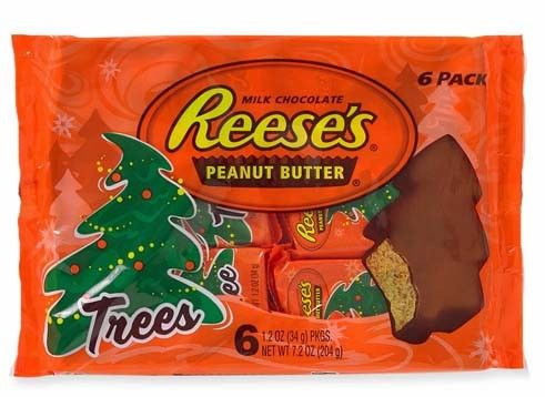 Reeses Christmas Tree Candy 2020 Reese's Peanut Butter Christmas Trees 6 Packs   1 Unit in 2020