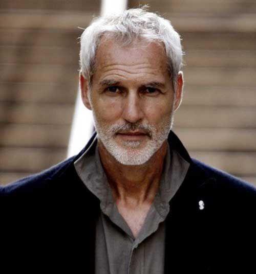 Hairstyle for senior older mature men remarkable
