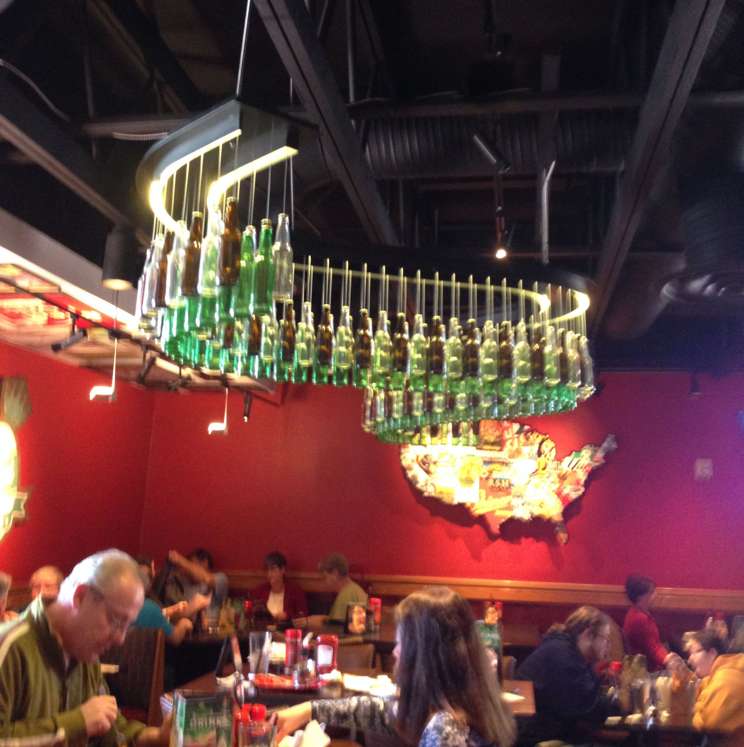 Red robin beer bottle chandelier created by prg rha for more red robin beer bottle chandelier created by prg rha for more information visit arubaitofo Images