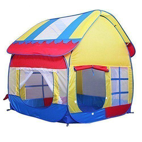 Kids Pop Up Tent Fun Play Big Playhouse Folding Waterproof Floor Canopy | Amazing World - donation store for shelteru0027s animal in USA | Pinterest | Big ...  sc 1 st  Pinterest & Kids Pop Up Tent Fun Play Big Playhouse Folding Waterproof Floor ...
