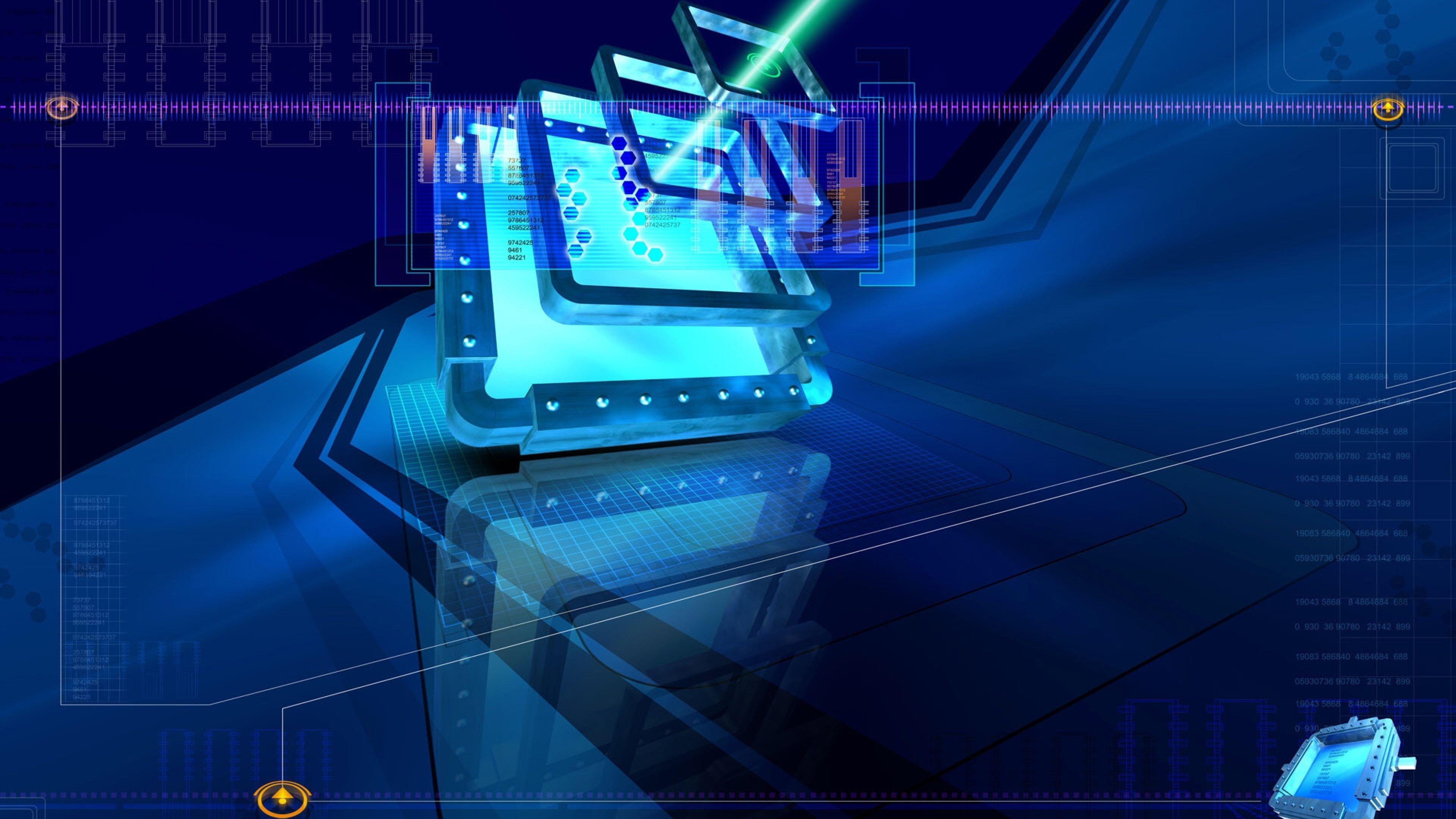 Res 3840x2160, Desktop Backgrounds Cool High Tech (