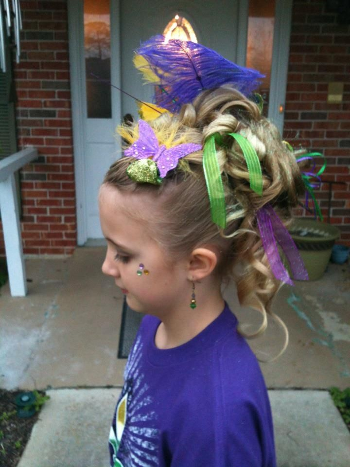 Mardi Gras Updo Hair Styles We Have Done