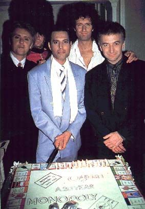 Queen On Their 20th Anniversary Party 1991 Freddie
