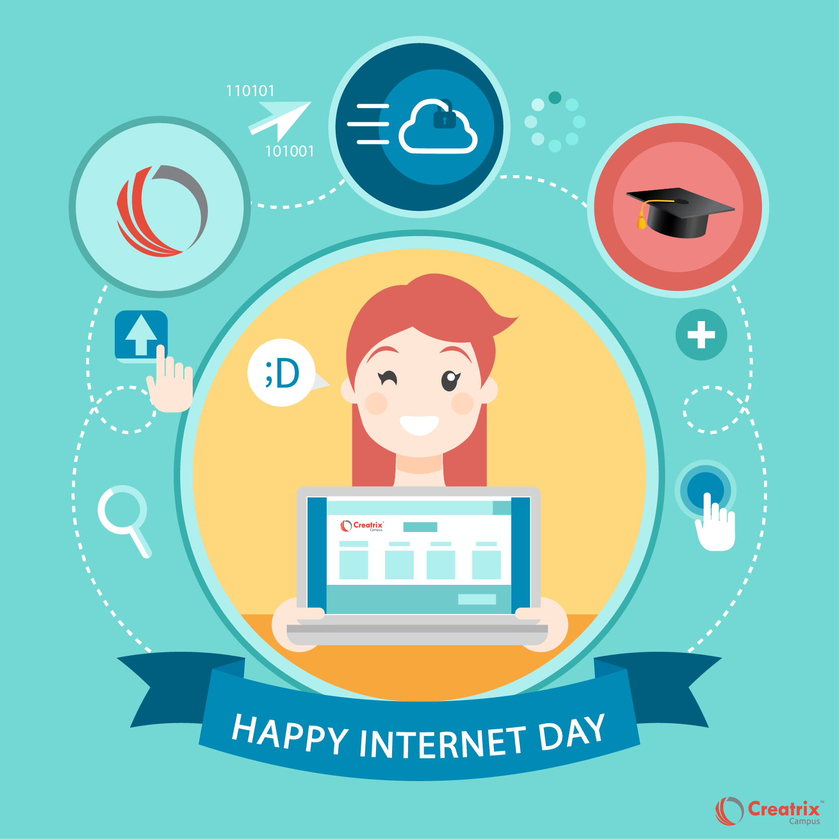 """Happy Day on Oct 9th 2016 """"Information flow is"""