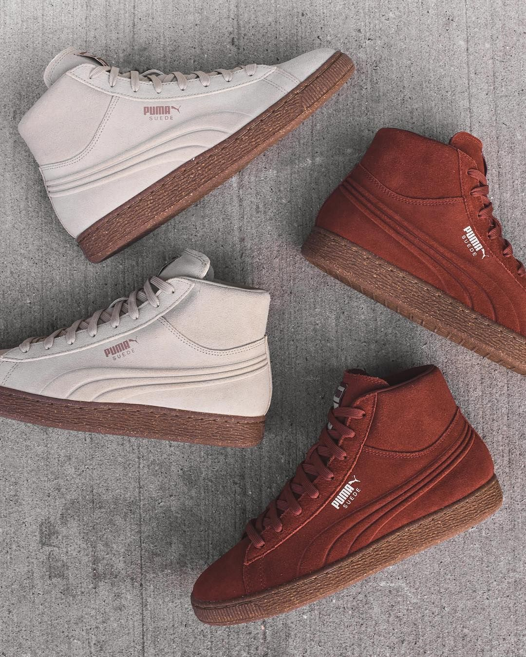 26edee451d5710 Puma Suede Mid Embossed Pack. Available at Kith Manhattan Kith Brooklyn and  KithNYC.com.  80 USD. by kith