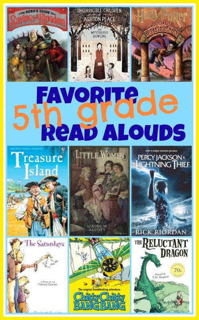 Favorite 5th Grade Read Aloud Books For Kids Book List Pinterest