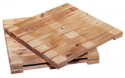 Tarima madera tratada jardin lujo para suelo pergolas - Caseta jardin resina ...