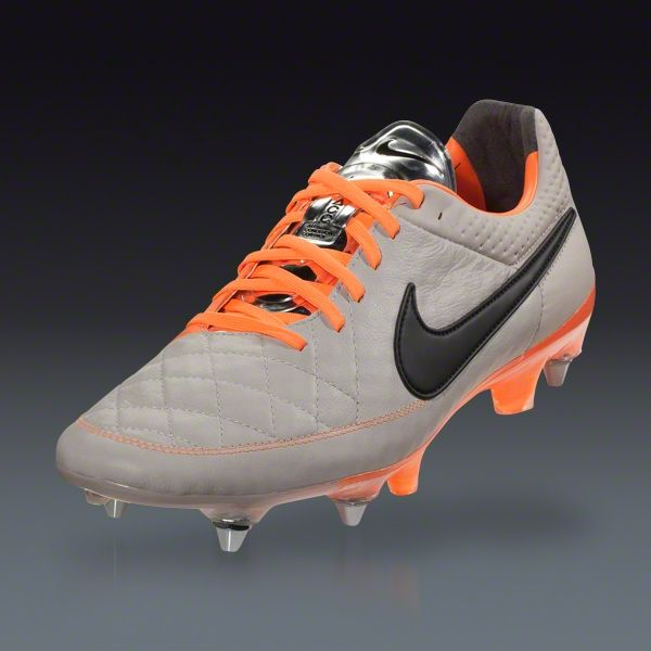8545f1282 Nike Tiempo Legend V SG-Pro - Desert Sand Atomic Orange Black Soft Ground  Soccer Shoes