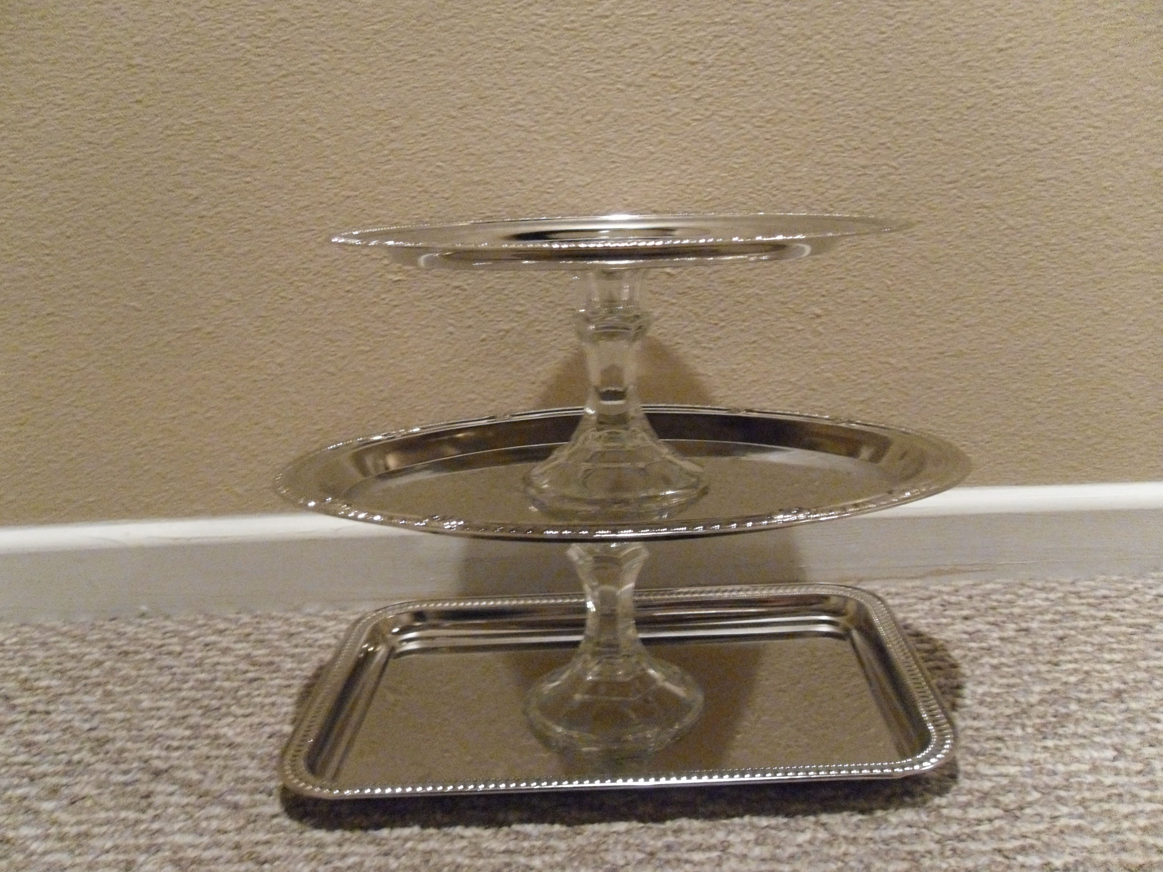 3 Tiered Jewelry Stand from Diva Locks make up stand Pinterest
