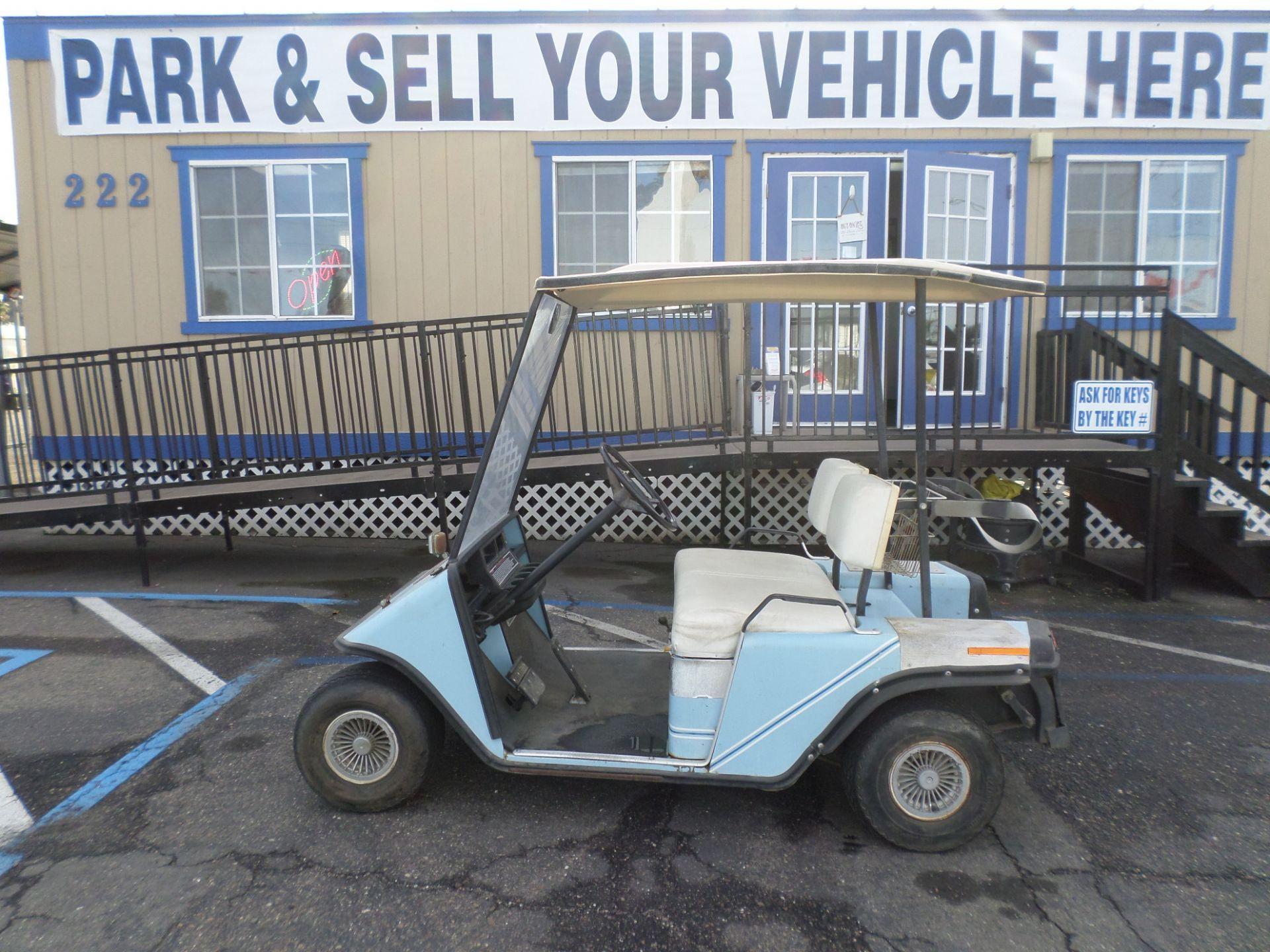 1987 EZ-GO Golf Cart   Cars   Golf carts, Golf carts for