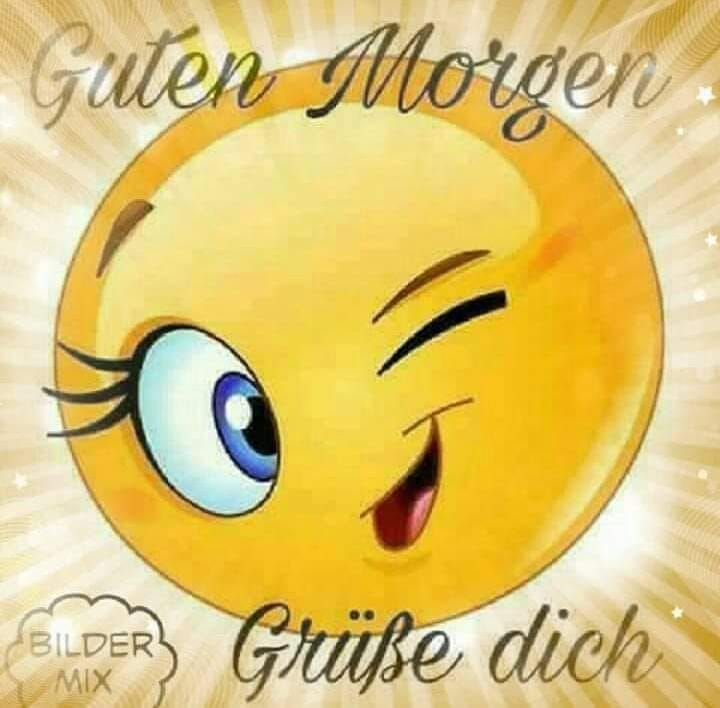 guten morgen grüße dich bilder | Smiley, Funny emoji faces
