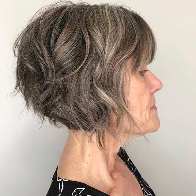 Frisuren mittellanges haar ab 50