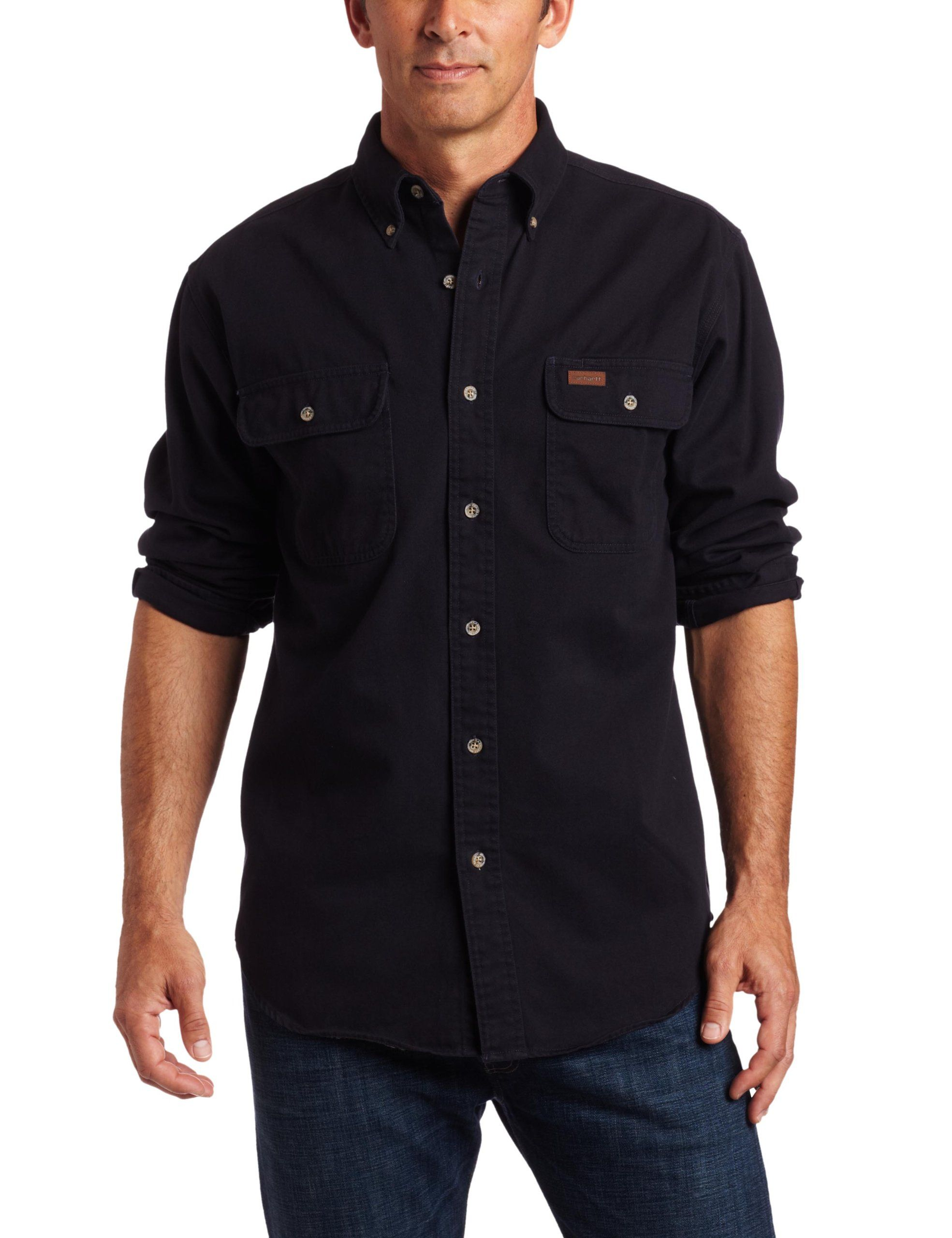 c8a6f45c0e1 Amazon.com  Carhartt Men s Oakman Work Shirt  Button Down Shirts  Clothing