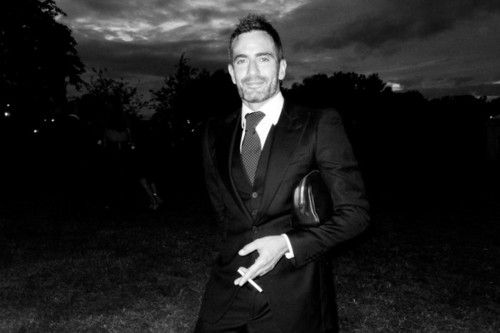Marc Jacobs at Kate Moss' wedding by Terry Richardson
