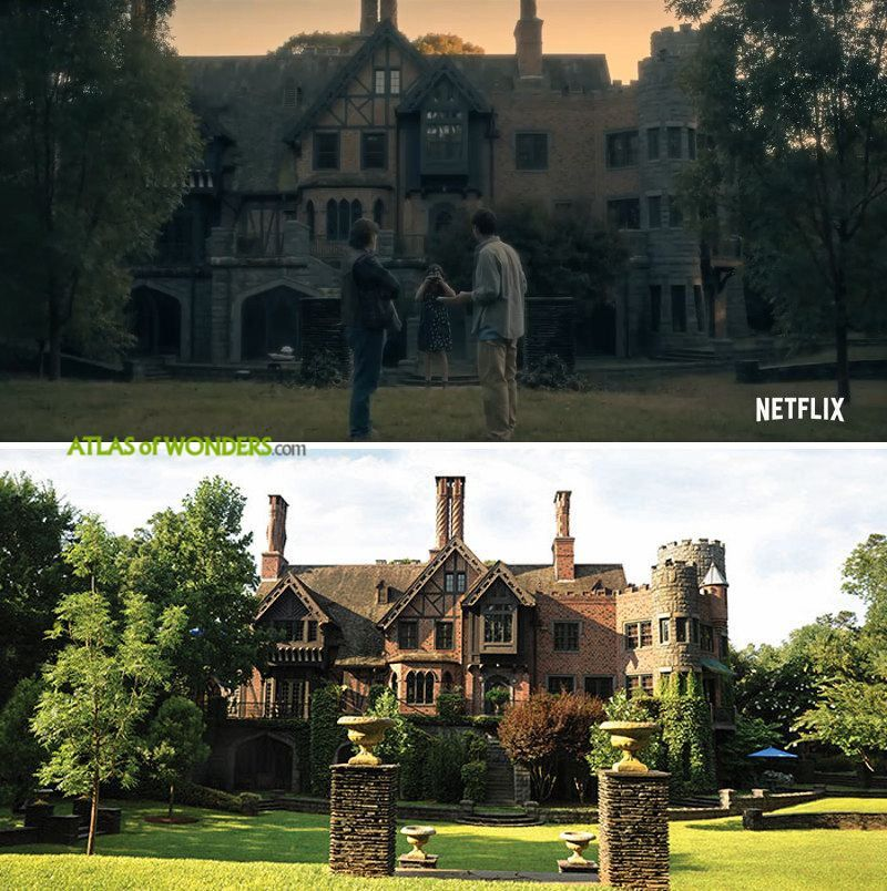 Where Was The Haunting Of Hill House Filmed House On A Hill House On Haunted Hill Filming Locations