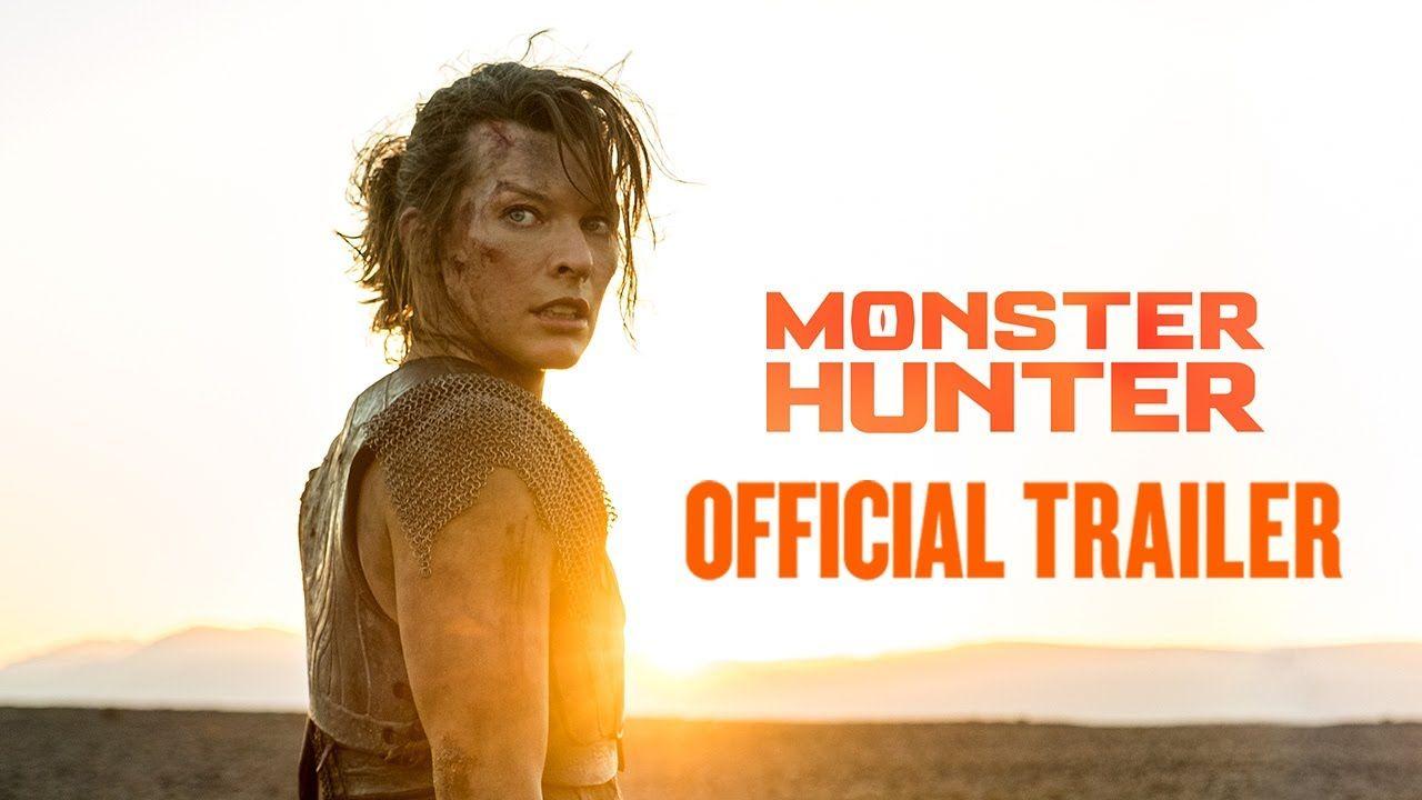 Monster Hunter 2020 Trailer Milla Jovovich Tony Jaa T I Diego Boneta In 2020 Monster Hunter Milla Jovovich Monster Hunter Movie