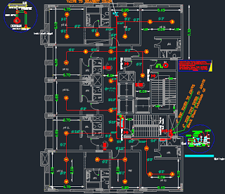 Firefighting And Fire Alarm Autocad Projects