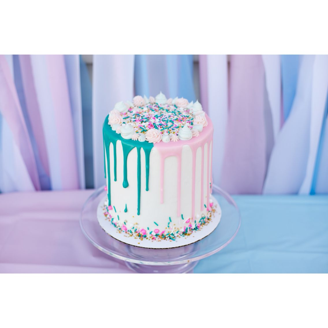 Gender Reveal Party Food And Baby Shower Drinks Ideas Baby Reveal Cakes Gender Reveal Cake Gender Reveal Party Food