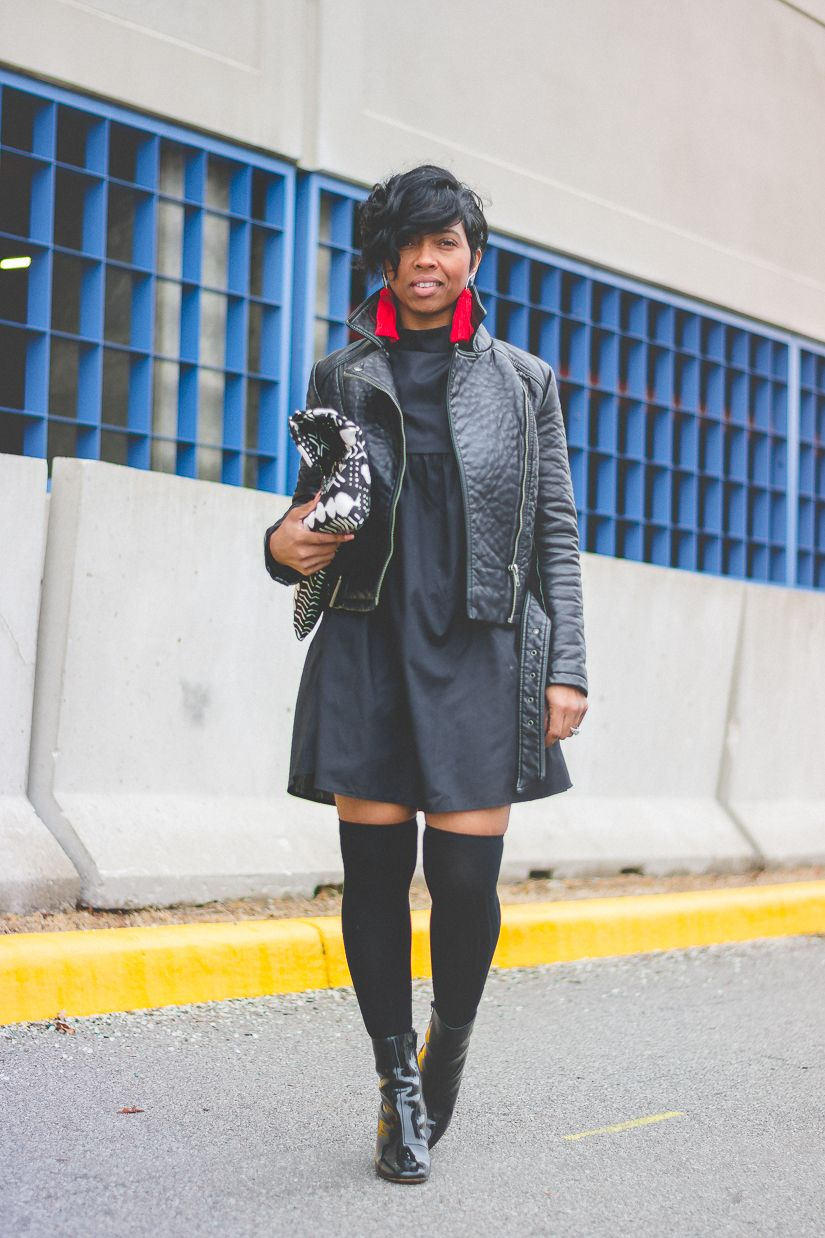 Sweenee style indy blogger winter outfit idea black girls who
