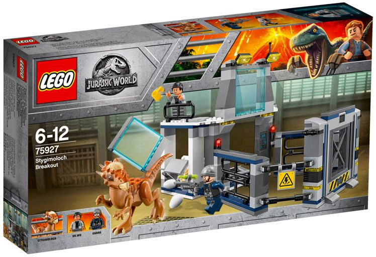 Du Jurassic 75927 Lego Stygimoloch World L'évasion vf7gb6Yy