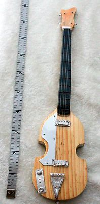 9 10 Miniature Mini Wood Instrument Electric Guitar MSD Dollfie BJD