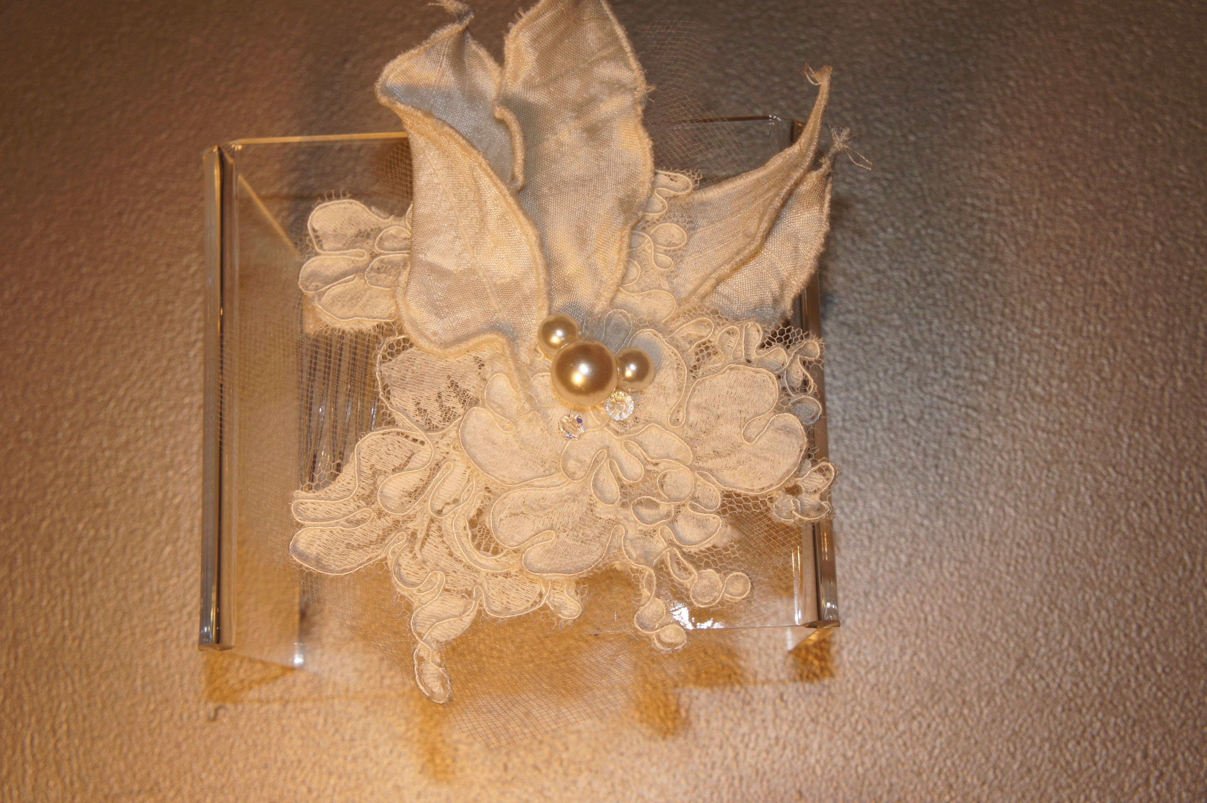 Hand made head piece by fara almasi faracouture bridal