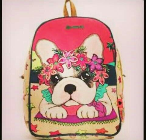 mochila de perritu fashion kawaii super lindo