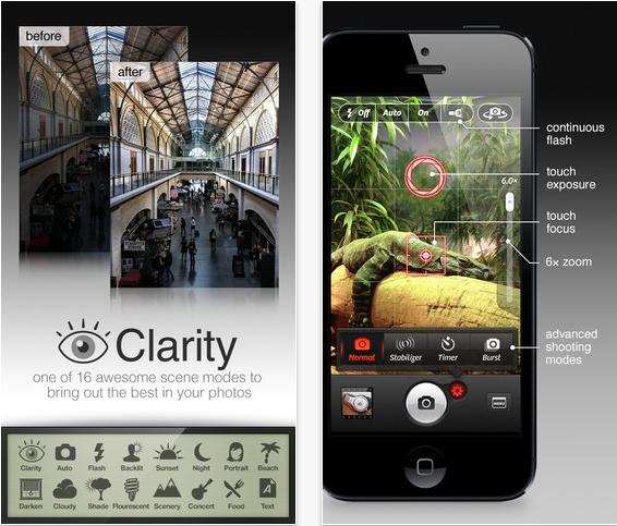 Camera+ update este disponibil in App Store, aduce multe