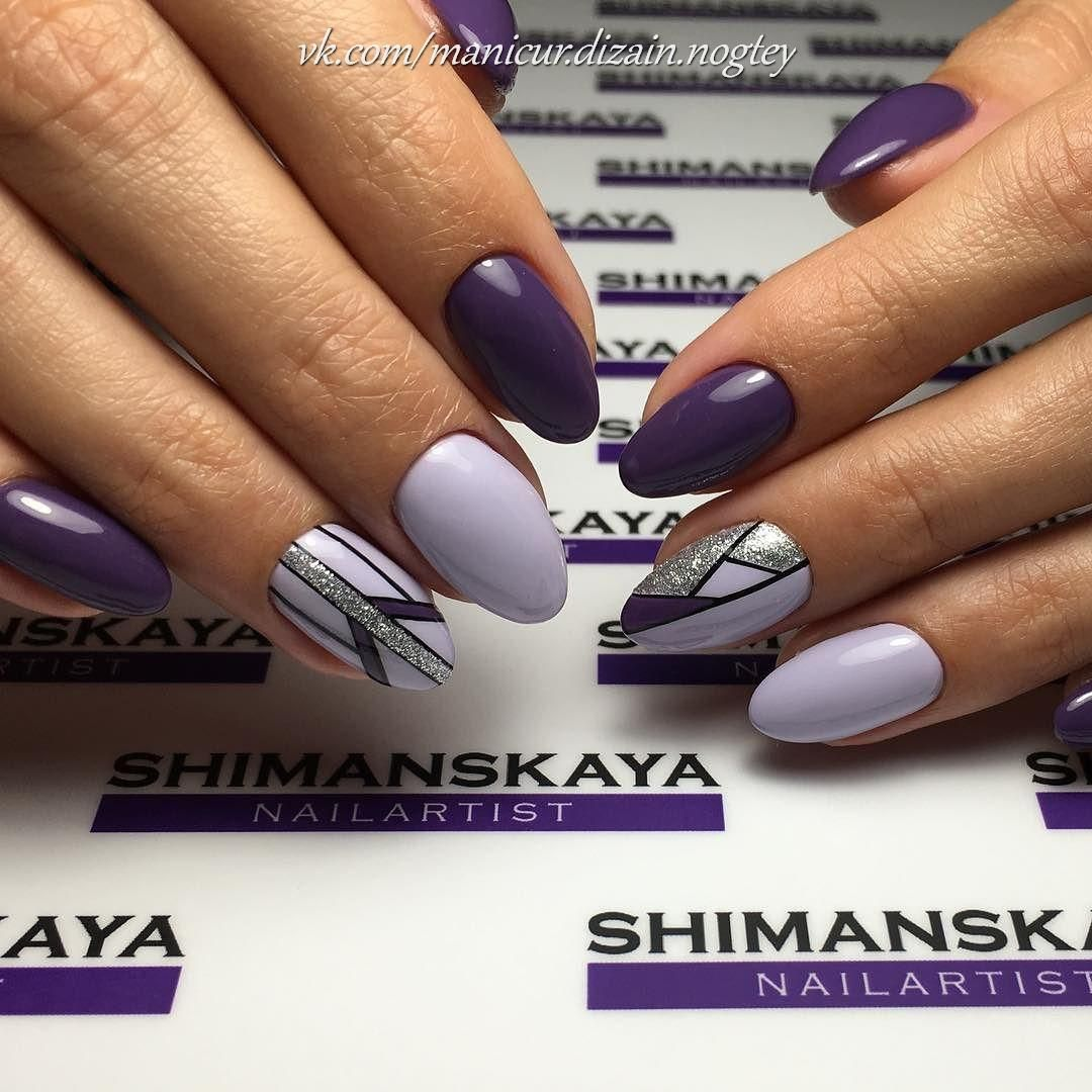 Nail Art #3688 - Best Nail Art Designs Gallery | Lilac nails, School ...