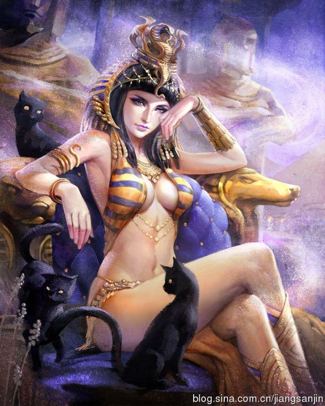 Sexy egyptian women fantasy