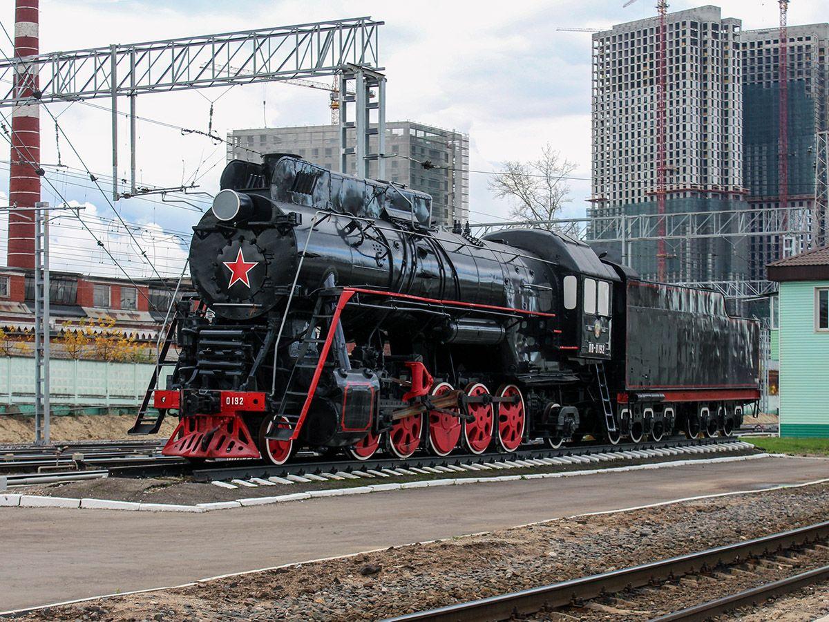 Паровоз ЛВ-0192 | Локомотив, Паровоз, Поезд