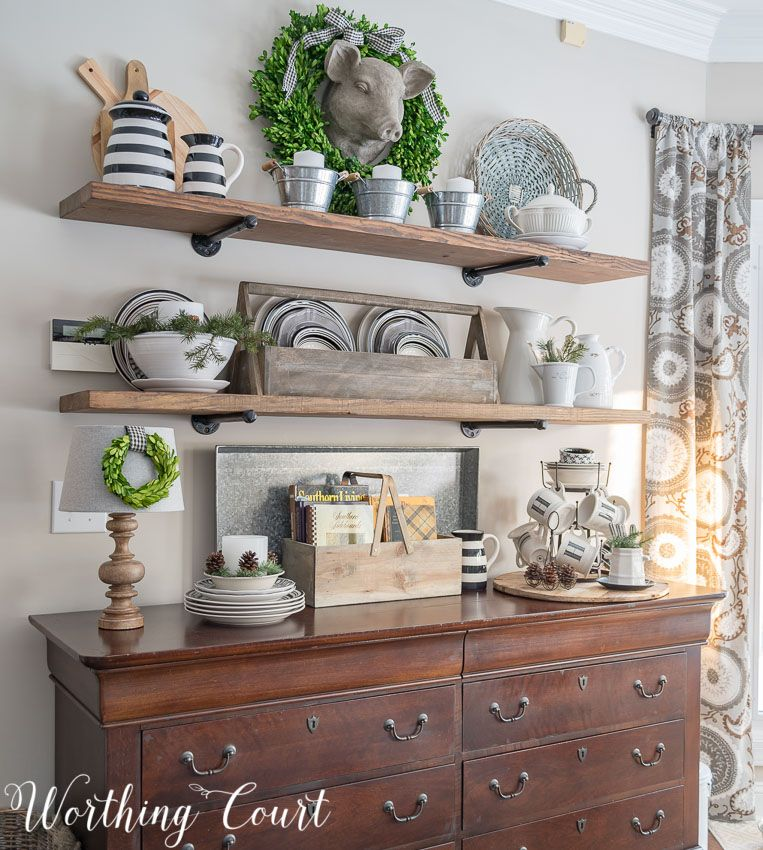 How To Quickly And Easily Keep Shelves Decorated As The