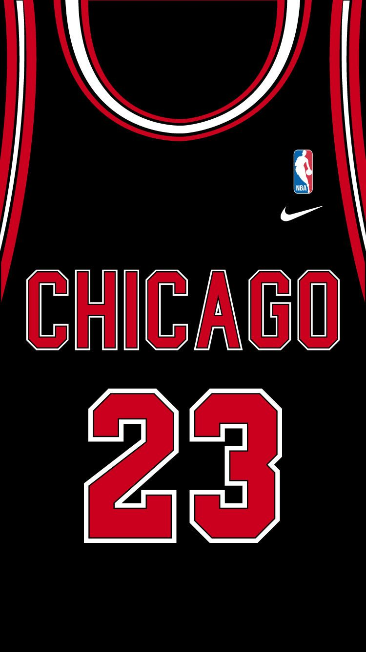 Michael Jeffrey Jordan Black Jersey Iphone 6 Sports Wallpapers