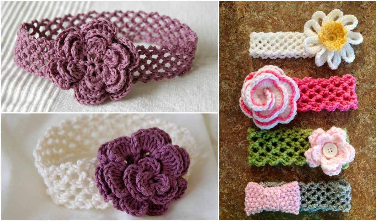 The Genius Headband with Flower Free Pattern in 2020 ...