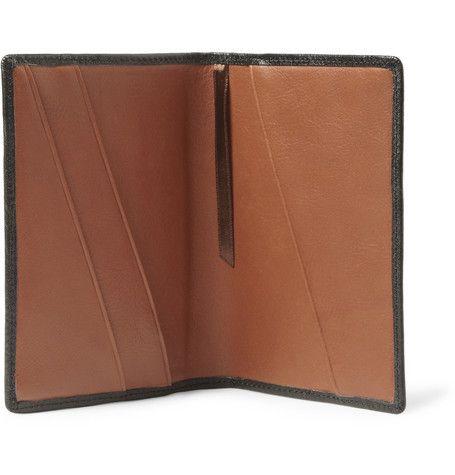 WANT Les Essentiels de la ViePearson Leather Passport Holder