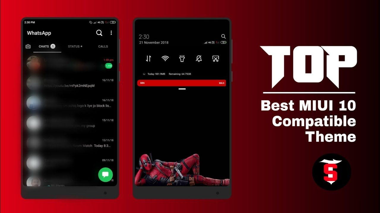 Top New Best MIUI 10 Themes for all Xiaomi devices | perfect