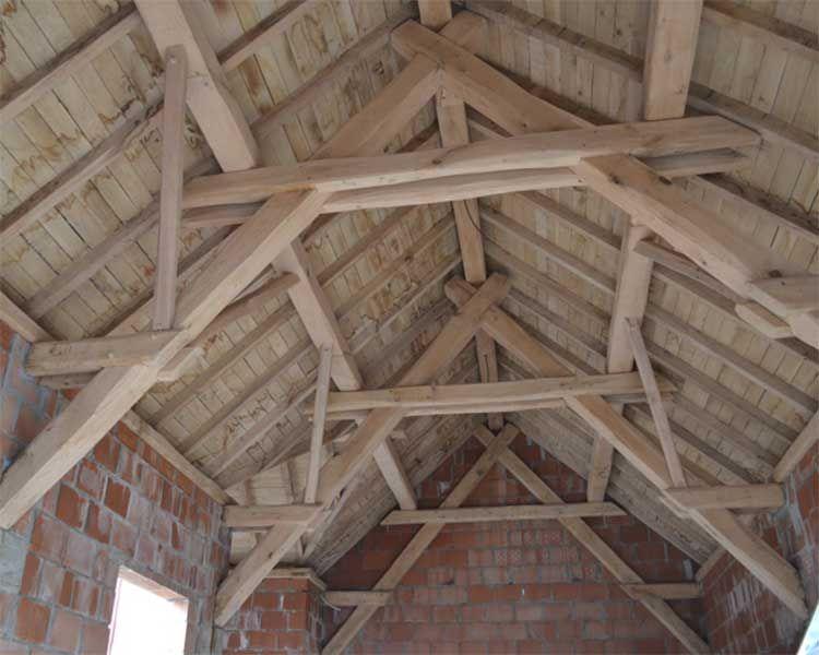 Fonkelnieuw dak met gordingen en kepers | Dakisolatie - Buiten LE-87