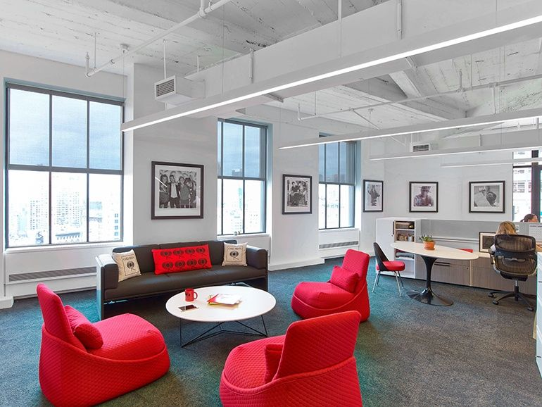 Studios Architecture Composes A Perfect Harmony At Sony S Us Headquarters Interior Design Magazine Interior Design Office Interior Design