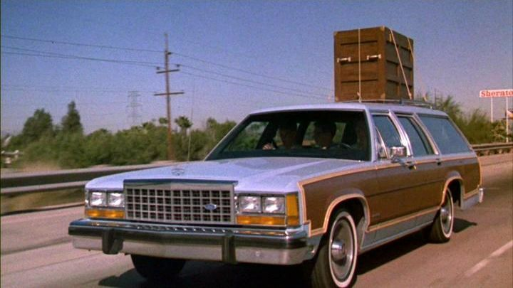 1983 Ford Ltd Crown Victoria Country Squire Wagon The Station Wagon Seen In Revenge Of The Nerds Ford Ltd Station Wagon Ford Motor