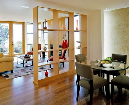 Great Way To Separate Living Room From The Dining Area