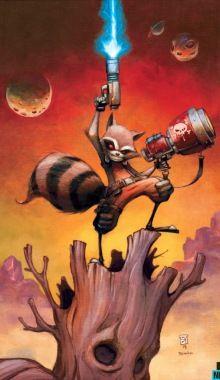 MAMMAL MAYHEM: Skottie Young Takes Rocket Raccoon Solo