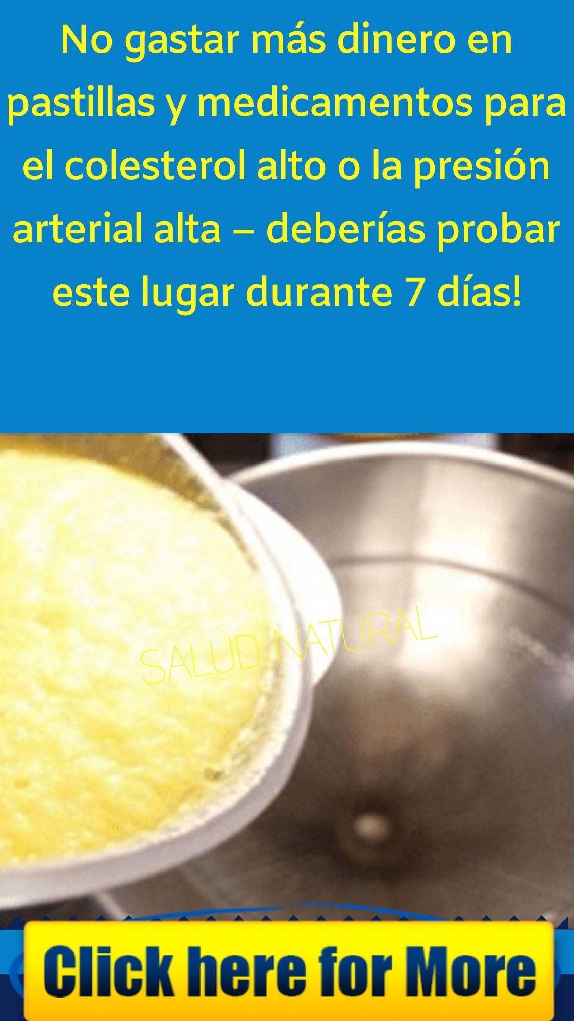 Pastilla colesterol alto