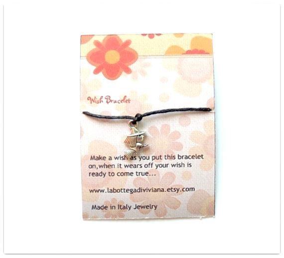 WITCHWish braceletSilver charm braceletMake by LaBottegaDiViviana, €1.40