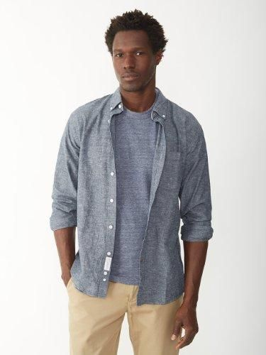 Layer light in chambray.