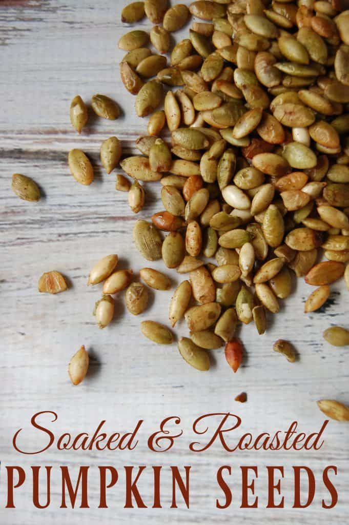Soaked and Roasted Pumpkin Seeds