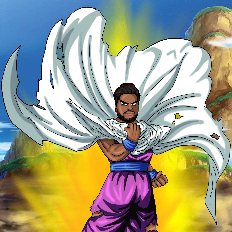 Dragon Ball Z Portrait like Gohan,Personalized,Artstyle
