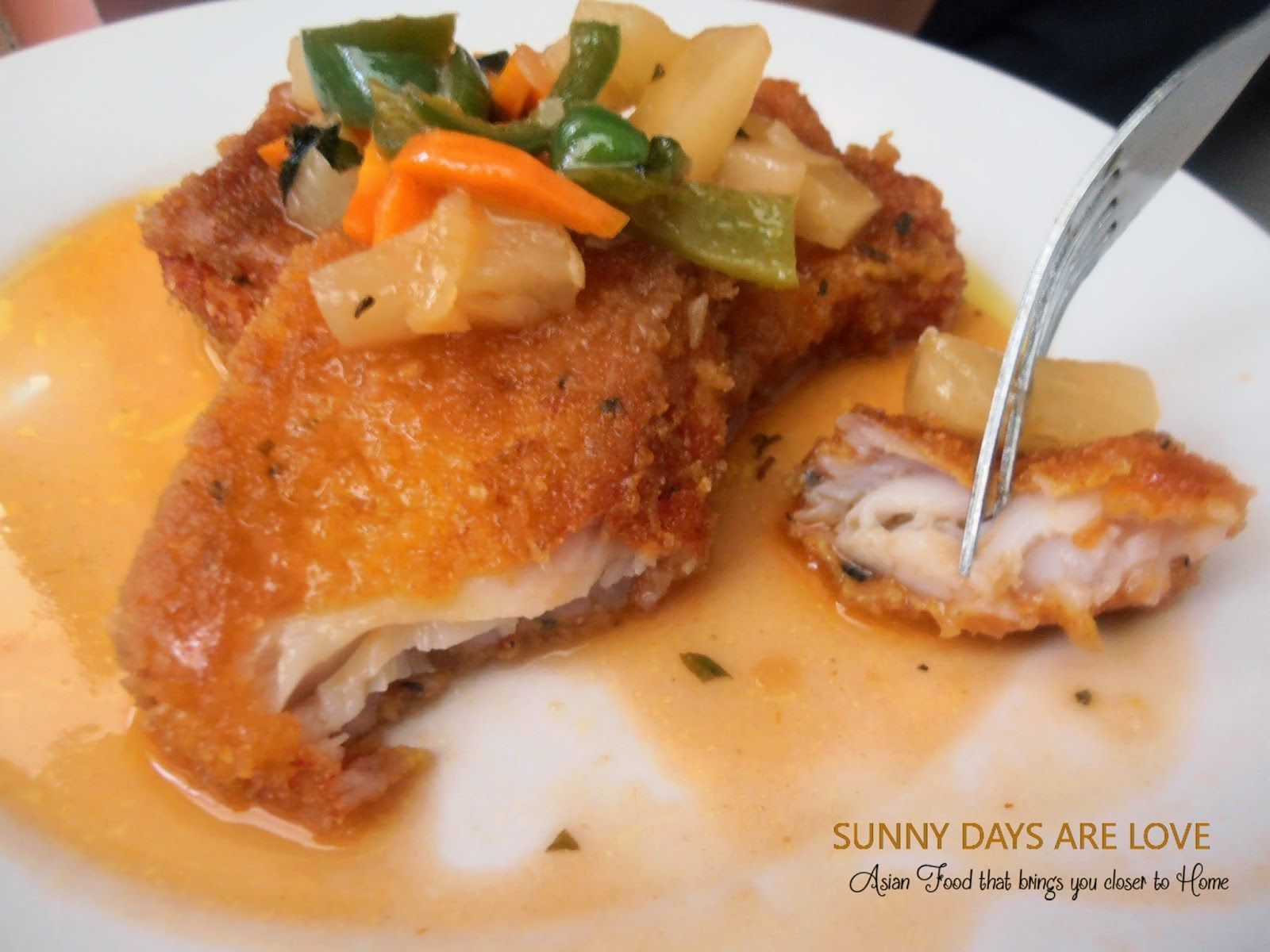 Crispy cream dory in orange and pineapple sauce recipes for Sauce for fried fish