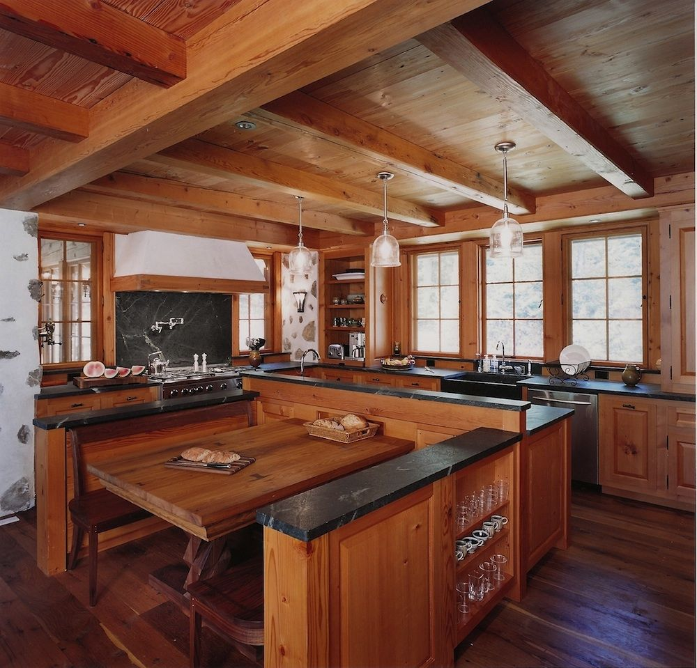 Mountain Living Kitchen Home & Interior Design Rustic